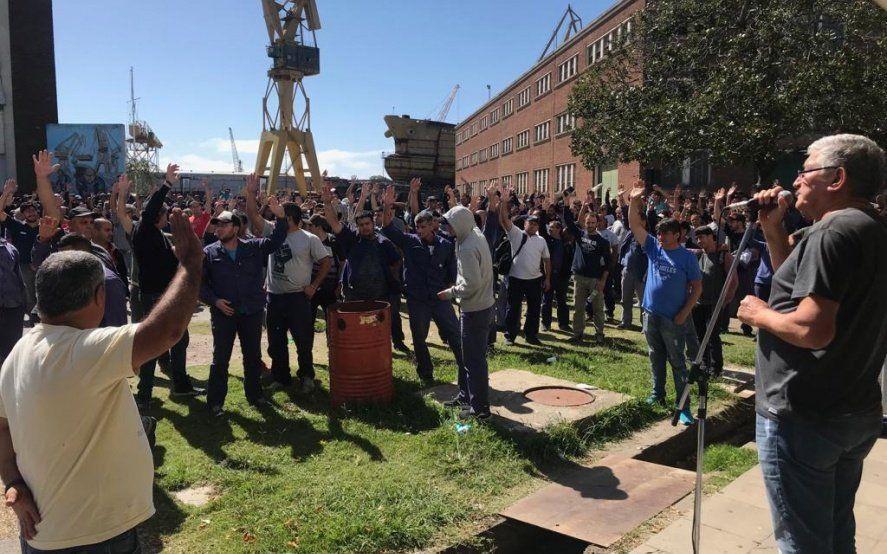 Astillero también marchará mañana en el marco de la movilización de la CGT