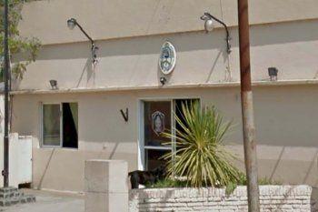 esta sede judicial fue detenido el jefe de calle de la Policía Bonaerense