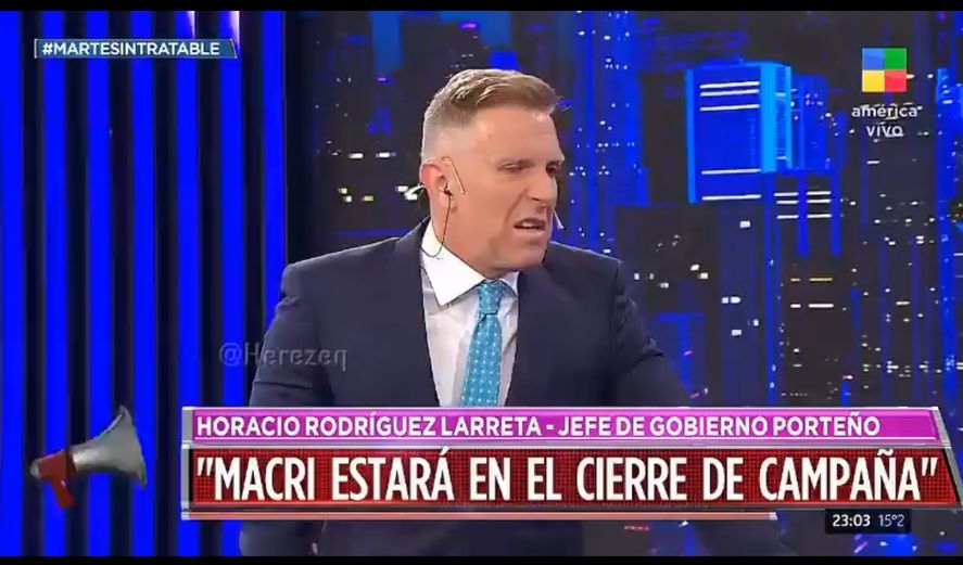 Alejandro Fantino volvió a ser complaciente con María Eugenia Vidal