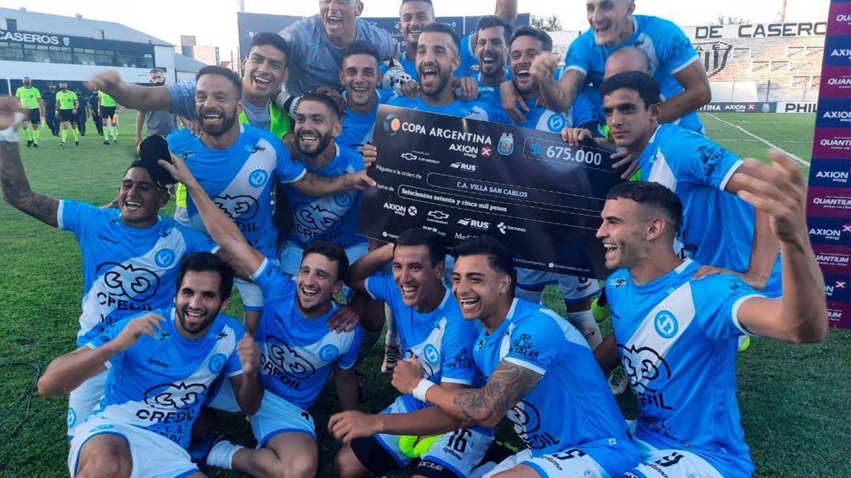Villa San Carlos venció a Atlanta en la Copa Argentina | CieloSport