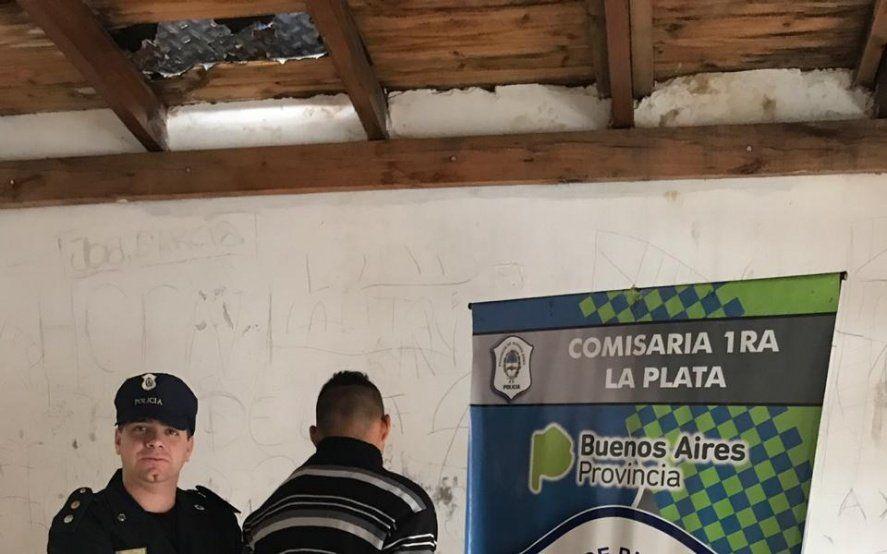 Tenía libertad condicional y cayó acusado de cometer robos en la Plaza San Martín de La Plata