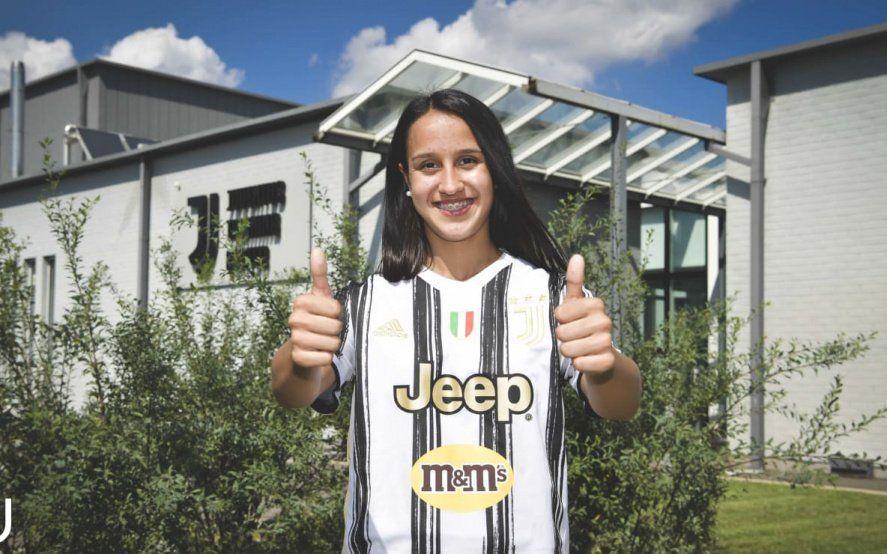 Dalila Ippolito fue presentada como jugadora de la Juventus