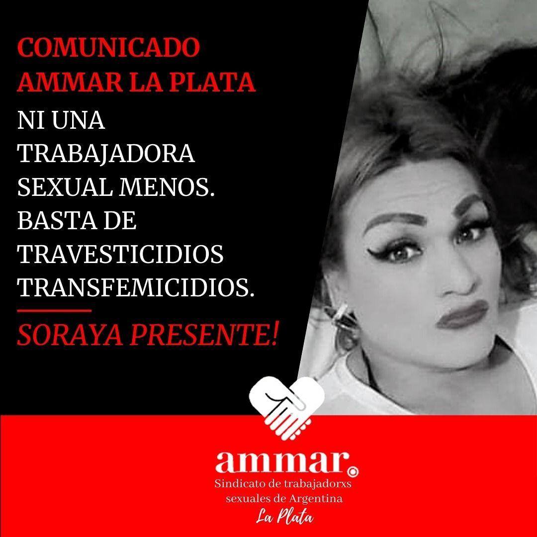 Soraya fue asesinada el sábado a la madrugada en la zona Roja platense