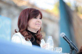 Cristina Kirchner le habló a los jóvenes de La Cámpora en la víspera del día de la lealtad.