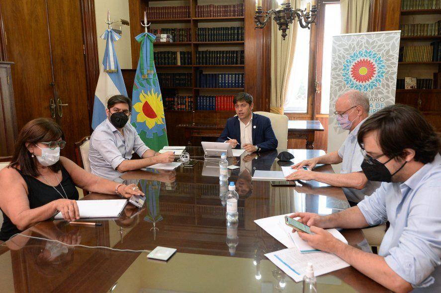 Kicillof y su gabinete prepararn las medidas para frenar la segunda ola de coronavirus que ya afecta a la Provincia.