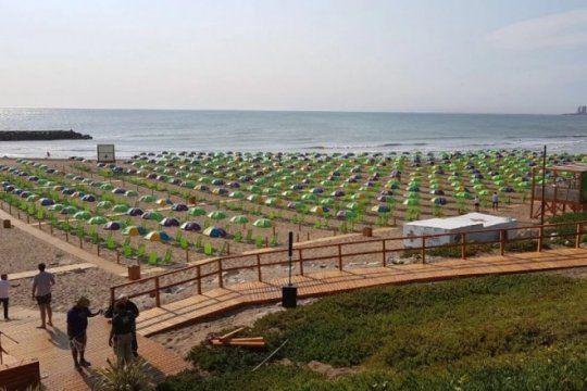 mas de 400 mil personas pasaron por las nuevas playas publicas de mar del plata