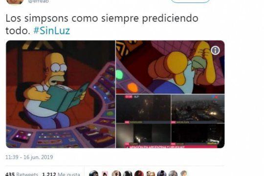 la argentina en off: el apagon que dejo al pais sin luz, ya tiene sus memes
