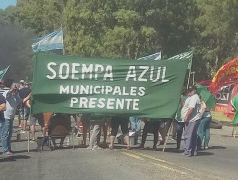 El SOEMPA de Azul denunció que funcionarios del Municipio obligaron a trabajadores a repartir boletas de los candidatos oficialistas