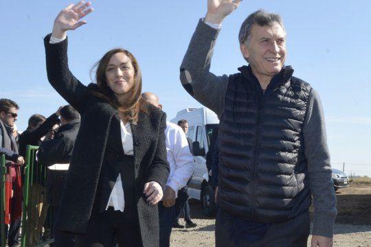 Macri y Vidal. Otros tiempos.