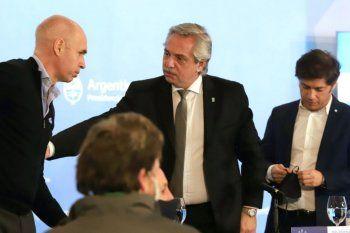 Larreta, Alberto y Kicillof se reunirán en Olivos.
