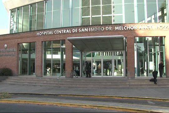 El arquitecto quedó internado en el Hospital Central de San Isidro