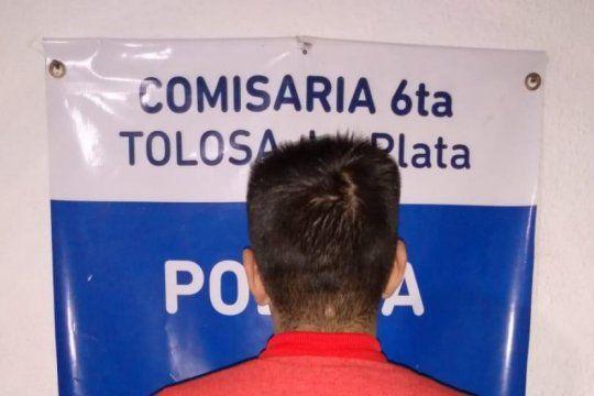 por el robo a la jubilada italiana en la plata hay un detenido y buscan a un menor