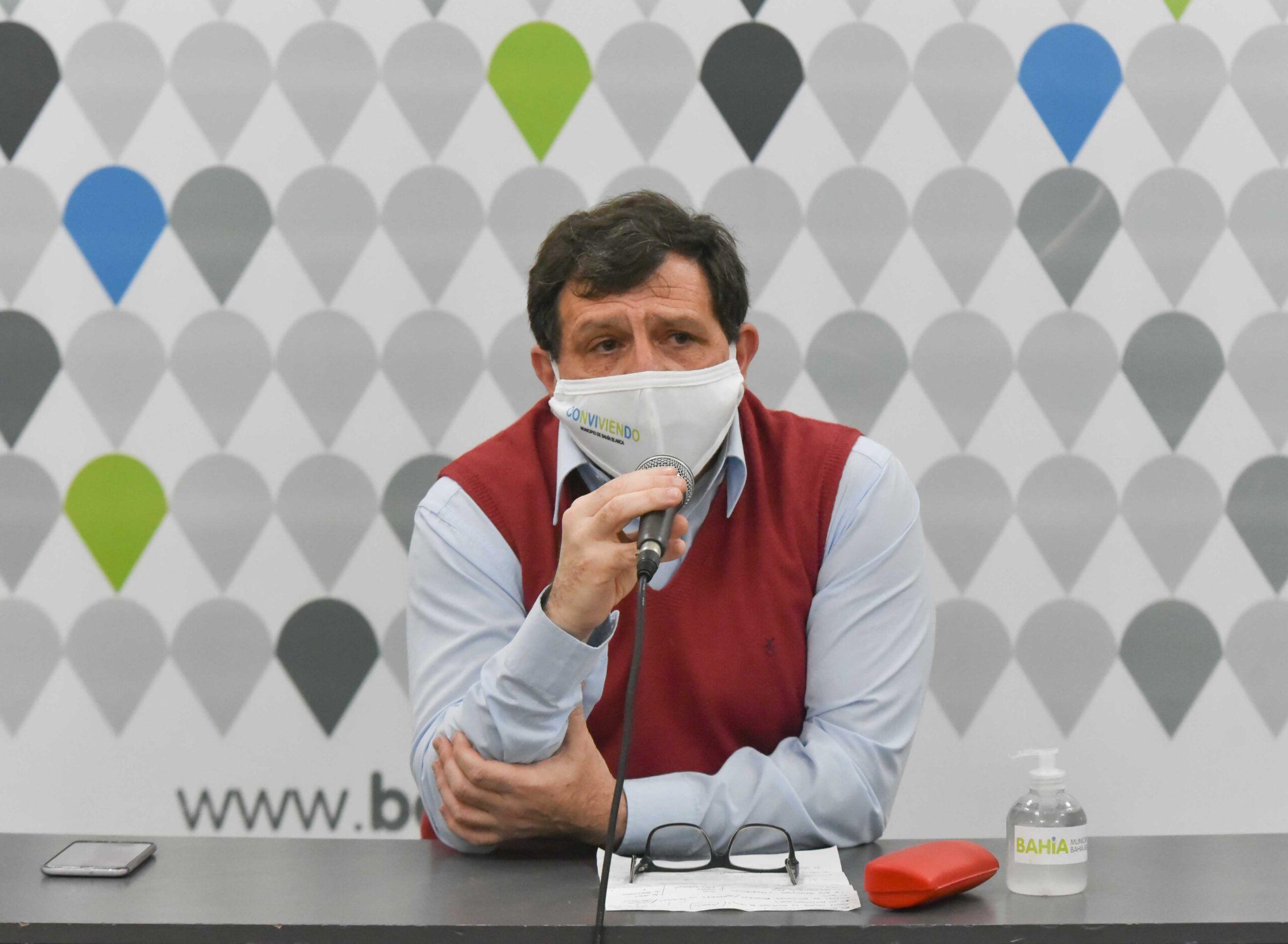 El secretario de Salud de Bahía Blanca, Pablo Acrogliano