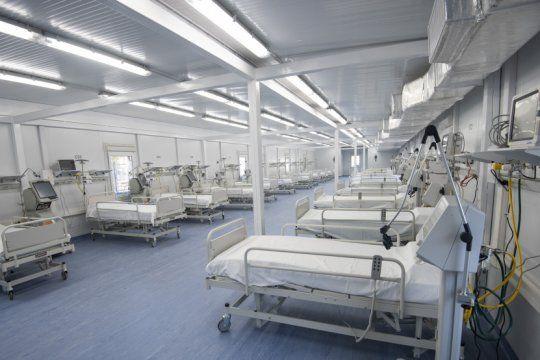 la ocupacion de camas de terapia intensiva ya supera el 60% en la provincia