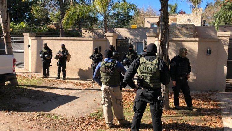 San Martín: desbaratan la banda narcocriminal de El Rengo
