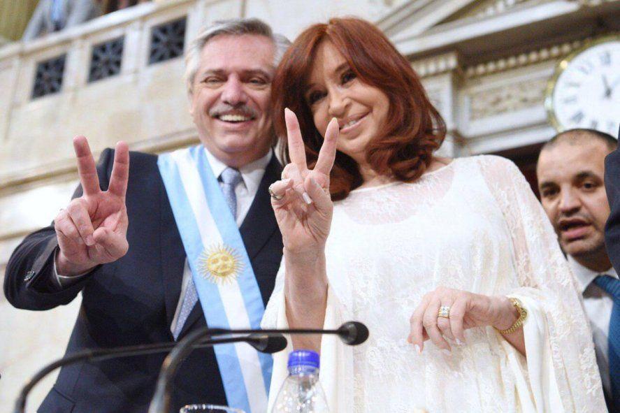 Una encuesta midió la imagen positiva de Alberto Fernández y Cristina Fernández