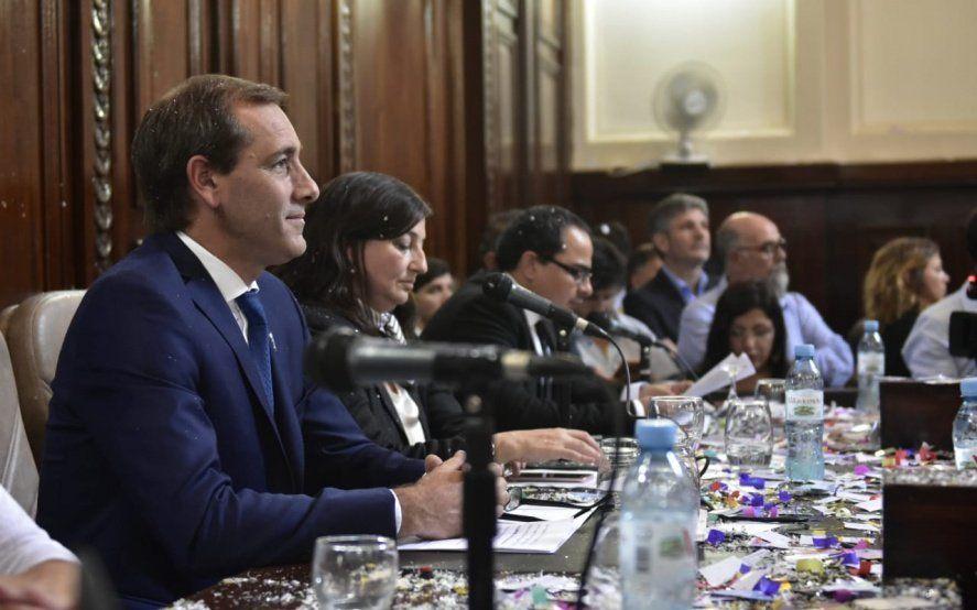 """Garro resaltó su discurso en la """"multiplicación de obras públicas y privadas"""""""