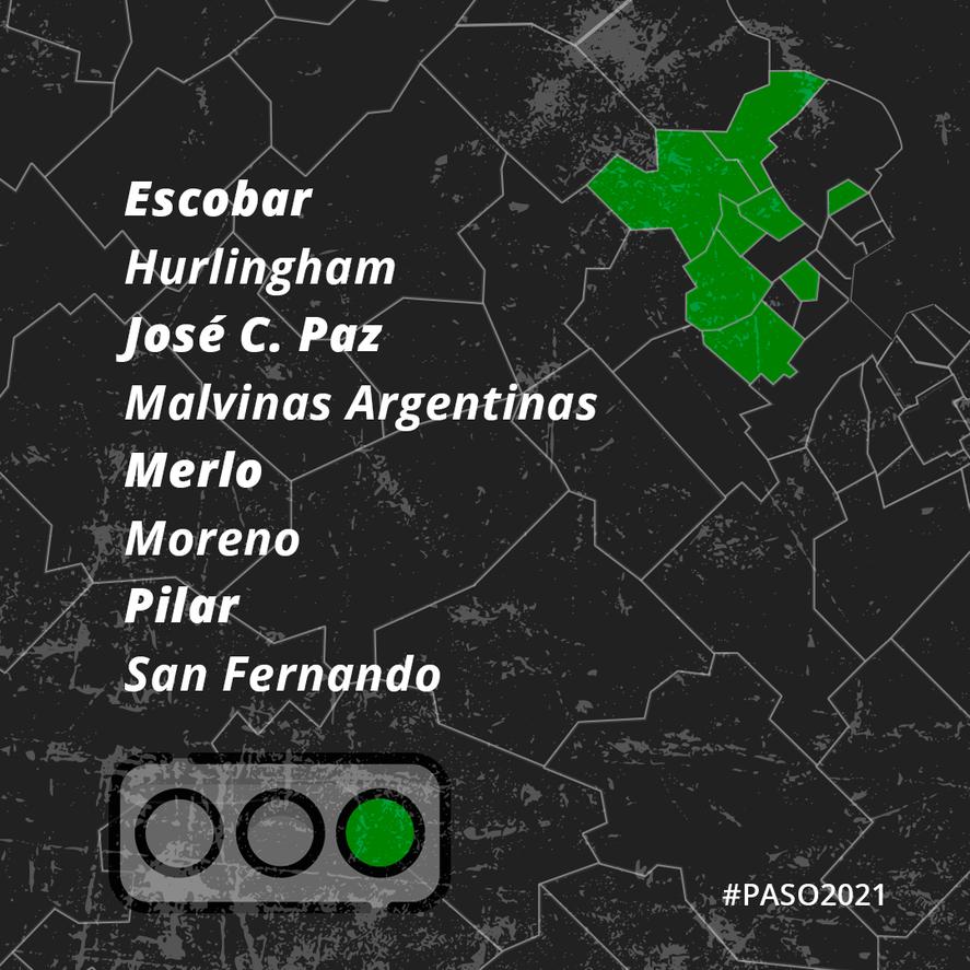 ¿Quién ganó las PASO en el Conurbano? El semáforo de los intendentes