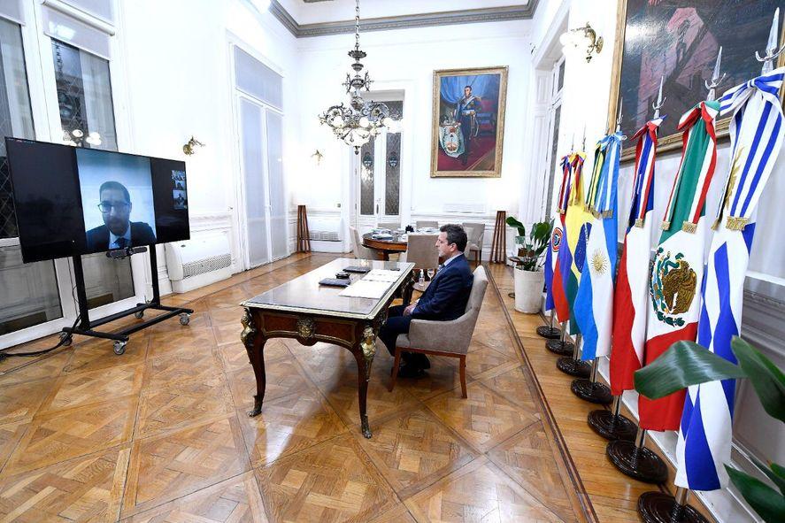 Sergio Massa encabezó el Foro de Parlamentarios contra el Terrorismo