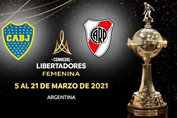 Boca y River, los representantes argentinos en la Copa.