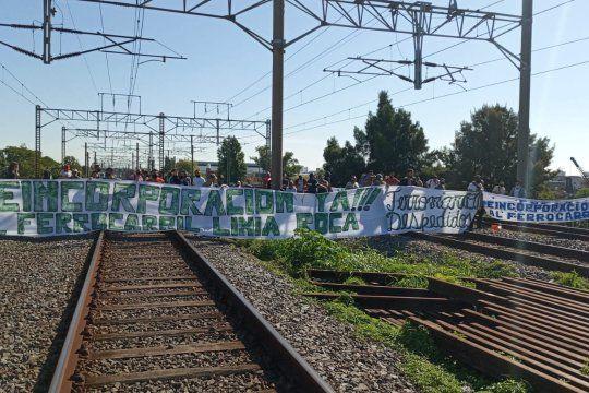 No llegan ni parten trenes de Plaza Constitución (Foto de archivo@MascarinMarce)