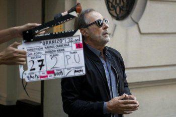 Francella se encuentra filmando Granizo, la nueva película de Carnevale.