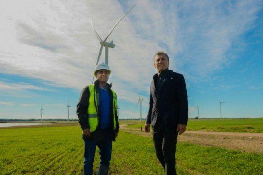 mindlin, el empresario cercano a macri que construyo el parque eolico en bahia blanca