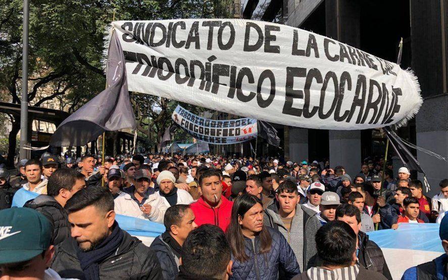 Tras los incidentes en Ecocarnes, el gremio que representa a sus trabajadores anunció paro de actividades por 48 horas