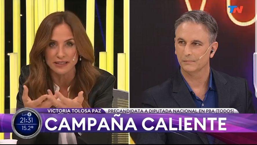Victoria Tolosa Paz habló de dos modelos de país y propuso consensos