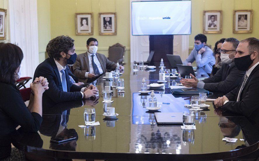 El gabinete económico se reúne para avanzar con la reactivación económica