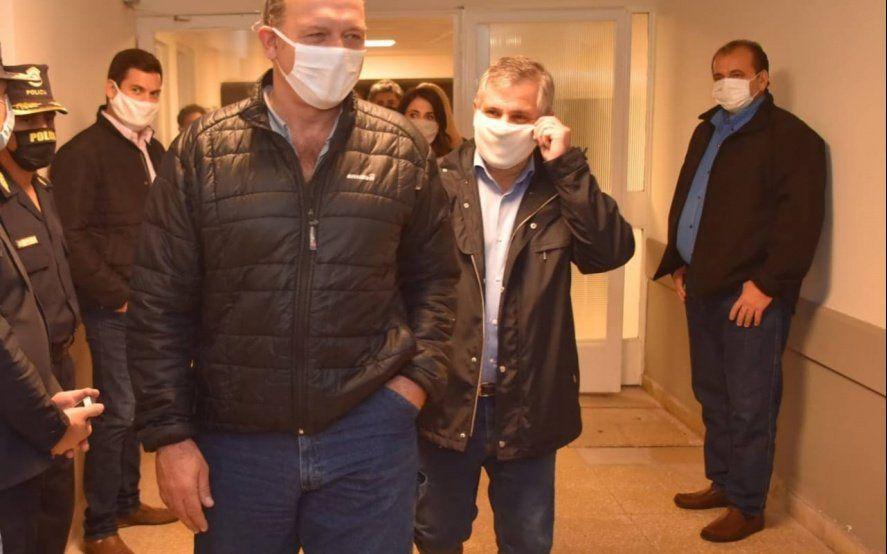 Berni apareció de incógnito en una comisaría de Zárate y encontró un desmadre: hubo sanciones