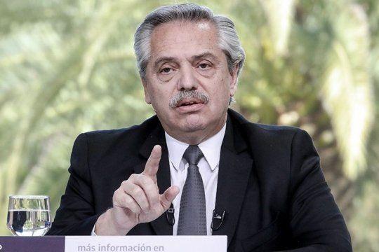 Alberto Fernández lanza créditos para las viviendas