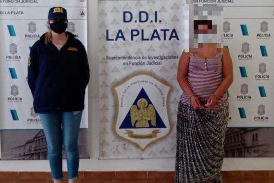 Zulma, una gitana de 30 años, detenida en el barrio El Futuro de La Plata