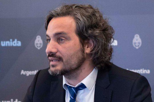 Santiago Cafiero dijo que queda es ver si la Corte va a actuar conforme a la Constitución Nacional.