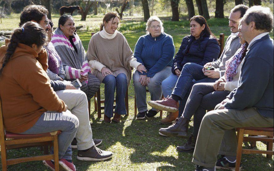 Doblete de Vidal en el Conurbano: Berazategui y Zárate al lado de funcionarios y candidatos