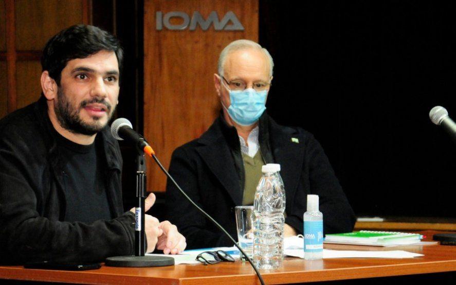 """Giles: """"La AMP exige una cláusula monopólica que IOMA no puede firmar"""""""