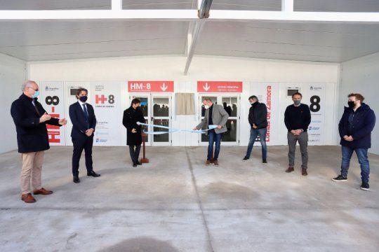 ya esta en funcionamiento el nuevo hospital modular en lomas de zamora