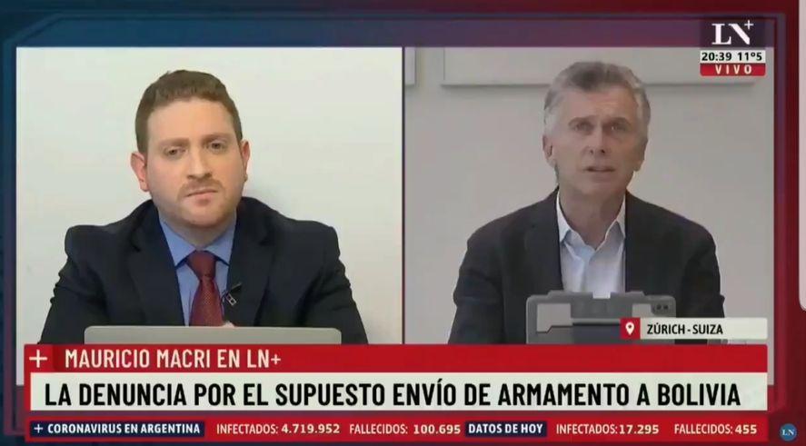 Mauricio Macri: En Bolivia Evo decidió renunciar