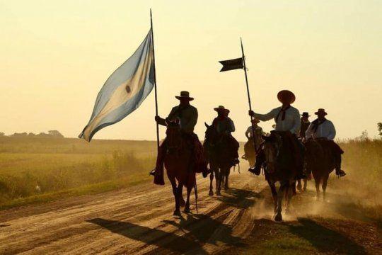 Conmemoración de la primera batalla de Cepeda. Foto: Fortín Pergamino (Facebook)