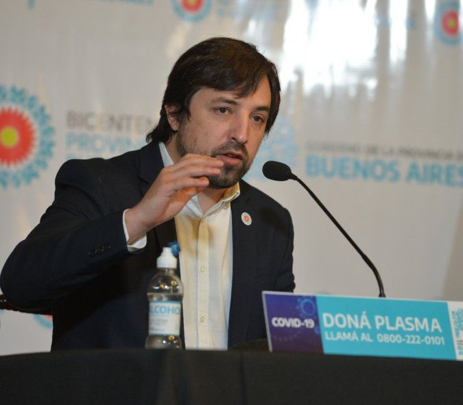 El viceministro de Salud, Nicolás Kreplak, salió al cruce de Ritondo