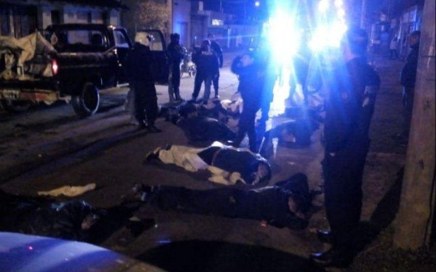 Berisso: tres baleados en una madrugada en la que se enfrentaron dos bandas