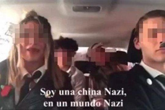 escandalo en la escuela: hicieron un video parodiando al nazismo y se multiplican los repudios