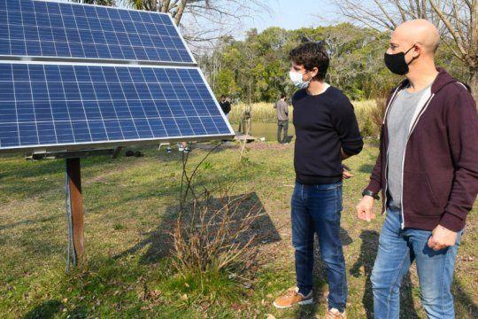 san fernando: el municipio instalo paneles solares en las islas del delta