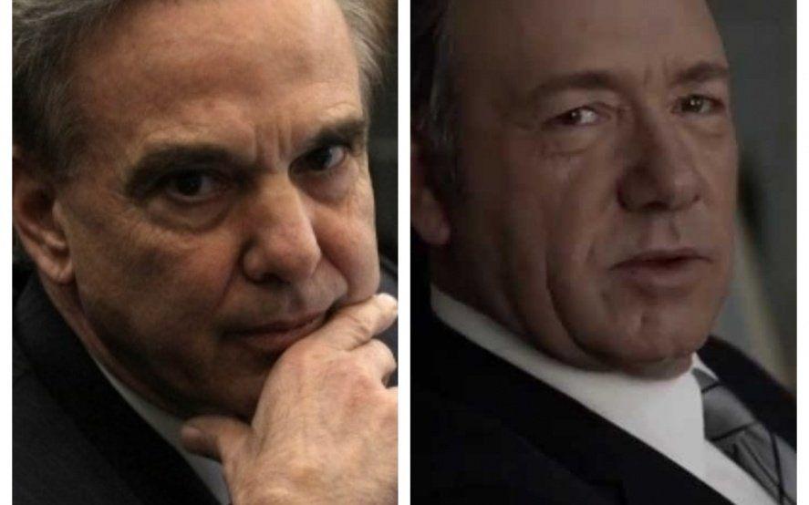 ¿Pichetto es Frank Underwood? Luego del anuncio de Macri, en las redes lo comparan con el protagonista de House of cards