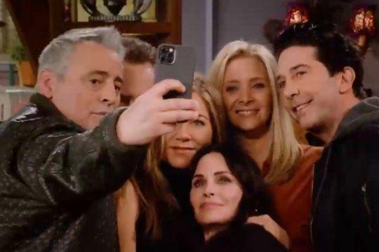 En Argentina, el especial de Friends se podrá ver en HBO MAX.