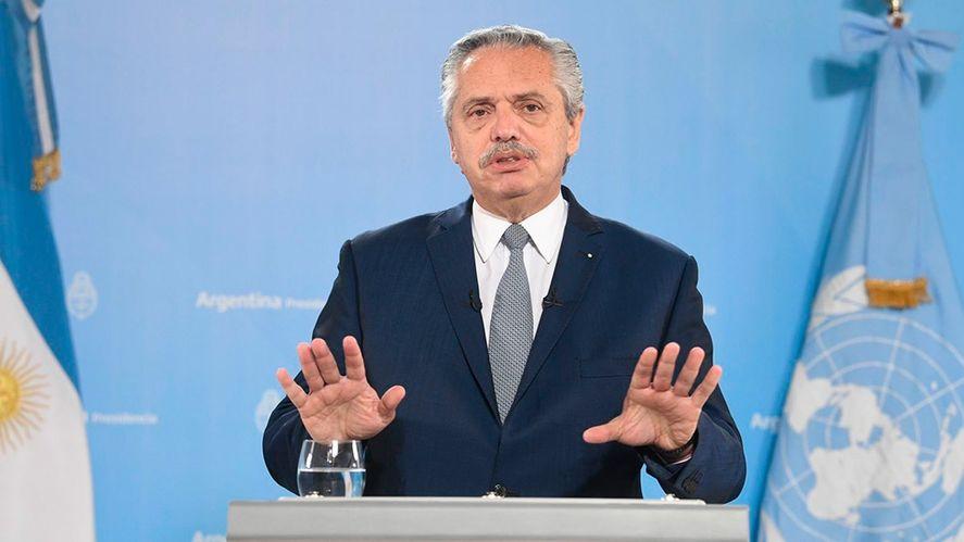 El Presidente calificó de deudicidio el préstamo del FMI