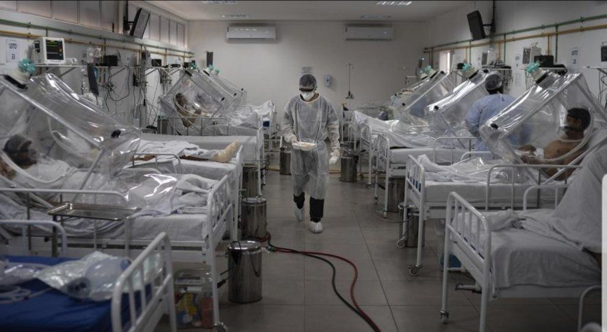 Las terapias intensivas están al borde del colapso por la segunda ola de coronavirus en el AMBA.