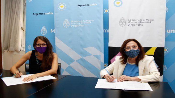 El ministerio de Género y Diversidad firmó un acuerdo con YPF
