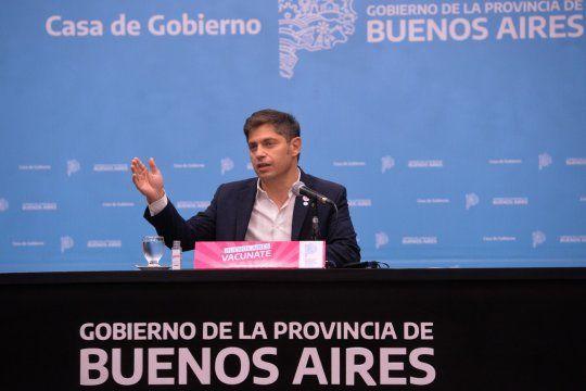 Kicillof pidió a la oposición dejarse de joder con la pandemia.