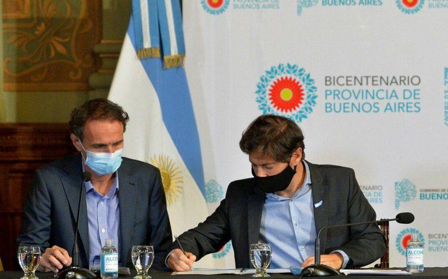 Provincia y Nación firman convenios para obras de infraestructura